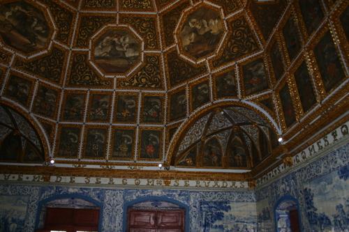 I det gamle kongepalasset i Sintra