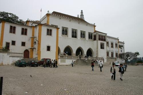 Slottet i Sintra utenfra